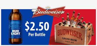 Monday Bud Bud Light Special 2 50 Per Bottle Budweiser Vinyl Sticker Decal Logo 2 Stickers 9 1275x542 Png Download Pngkit
