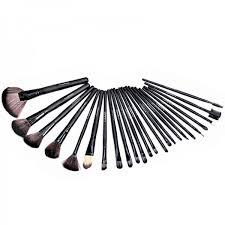 24 piece mac makeup brush set with