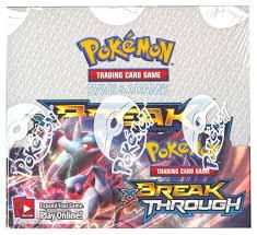 POKEMON XY BREAKTHROUGH BOOSTER BOX #Gaming