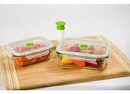 vacuum food containers top storage