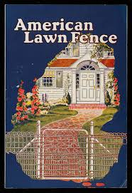 American Lawn Fence American Steel Wire Company New York New York Historic New England