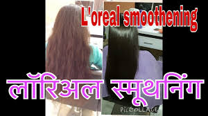 l oréal permanent hair smoothing touch