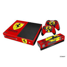 Xbox One Console Skin Decal Sticker Ferrari Custom 2 Controller Skins Set Xbox One Console Xbox Xbox One