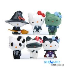 45 Off Hello Kitty Halloween Miniature Figurines For Kids Room Decor