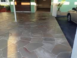 painting concrete patio to look like stone