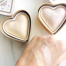 makeup revolution heart highlighter