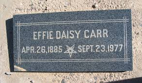 Effie Daisy Kemple Carr (1885-1977) - Find A Grave Memorial