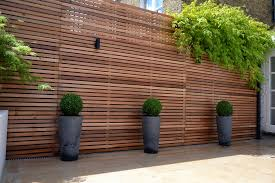 wood cladding garden wall wood cladding