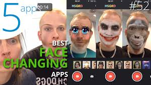 best face changing apps you