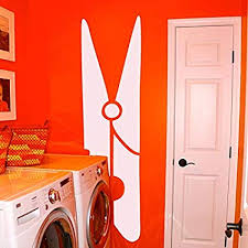 Amazon Com Diuangfoong Clothespin Laundry Room Vinyl Wall Sticker Decal 6w X 22h Home Kitchen