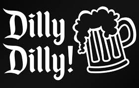 Funny Decal Dilly Dilly Decal Dilly Dilly Crown Decal Etsy