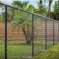 Galvanized 5 Foot 2 Black Galvanized Chain Link Fence Posts For Baseball Fields In Dubai Buy Galvanized Chain Link Fence In Dubai 5 Foot Chain Link Fence Posts Chain Link Fence