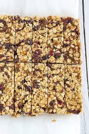 no bake 5 ing granola bars