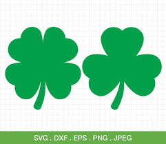 4 Leaf Clover Flower Silhouette Vinyl Sticker Decals Car Wall From 75mm To 150mm