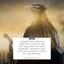 kata kata umar bin khattab tentang hidup takdir cinta lengkap