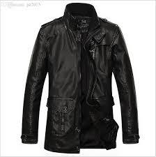 jackets retro leather biker jacket