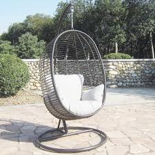 outdoor egg hanging garden chair