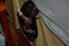 diy bedside concealment holster