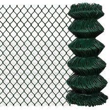 Vidaxl Chain Fence 1 25x25m Outdoor Garden Wire Mesh Panel Fencing Barrier For Sale Online Ebay