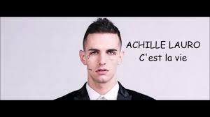 Achille Lauro- C'est la vie (testo) - YouTube