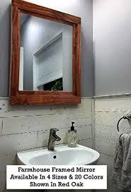 farmhouse mirrors large wall mirror