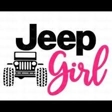 Wall Art Jeep Girl Car Decal Poshmark