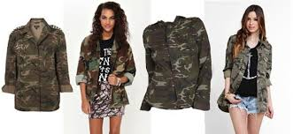 how to wear a camouflage print jacket