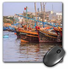 3drose fishing fleet phan thiet harbor