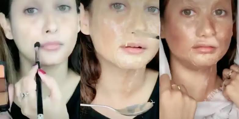 "Image result for deepika padukone makeup challenge"""