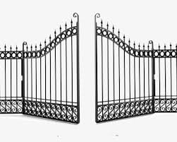 Iron Gate Png Clipart Fence Gate Clipart Iron Clipart Open Villa Free Png Download