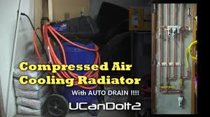 pressed air dryer with auto drain