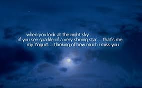 night sky quotes quotesgram