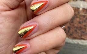 cly nail art for short nails