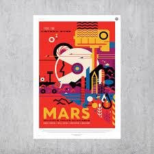 Mars Nasa Jpl Space Travel High Gloss Vinyl Decal Sticker For Etsy