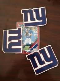 3 Of New York Giants Themed Car Decal Sticker Quality Nfl Collectable Ebay