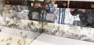 antique toughened mirror glass