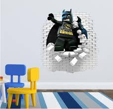 Batman Wall Canada Lego Decal Large Movie Art Cityscape Themed Vinyl Stickers Amazon Vamosrayos