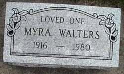 Myra Mae Orr Walters (1916-1980) - Find A Grave Memorial
