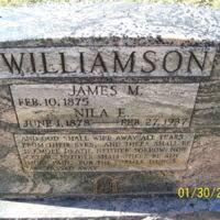 James Marshall Williamson (1875-1969) | Familypedia | Fandom