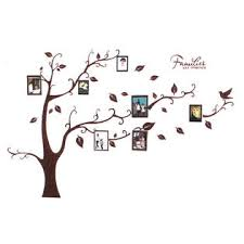 Unique Bargains Families Tree Branch Trunk Wall Art Sticker Decal Home Decor Mural