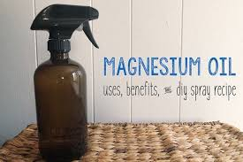 magnesium oil benefits uses diy