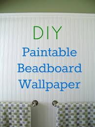 install beadboard paintable wallpaper