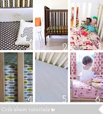 how to sew a crib bedding and nursery