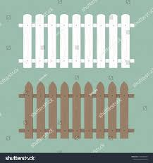 Wooden Fence Illustration Farm Wood Wall Stock Vector Royalty Free 1390484453
