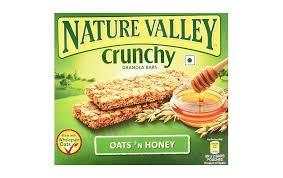nature valley crunchy granola bar oats