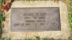 Clair Wesley May (1919-1994) - Find A Grave Memorial
