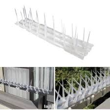 Luckybabys 5m Pack Fence Wall Spikes Garden Intruder Bird Cat Repellent Burglar Anti Climb Shopee Philippines