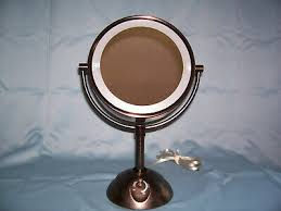conair oil rubbed bronze lighted makeup
