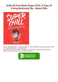indx 9 free book super chill a year