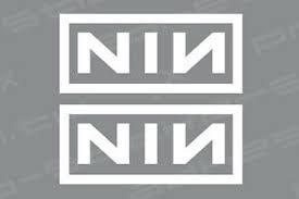 Nin Nine Inch Nails Vinyl Decal Sticker Ebay